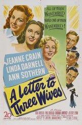 Постер к фильму «Письмо трем женам»