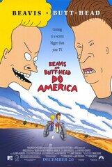 Постер к фильму «Бивис и Батт-Хед уделывают Америку»