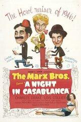 Постер к фильму «Ночь в Касабланке»