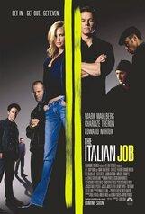 Постер к фильму «Ограбление по-итальянски»