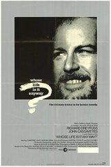Постер к фильму «Чья это жизнь в конце концов?»