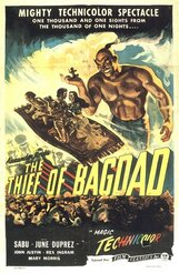 Постер к фильму «Багдадский вор»