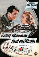 Постер к фильму «Двенадцать девушек и один мужчина»
