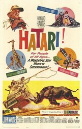 Постер к фильму «Хатари!»