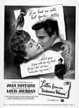 Постер к фильму «Письмо незнакомки»