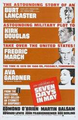Постер к фильму «Семь дней в мае»