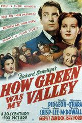Постер к фильму «Как зелена была моя долина»