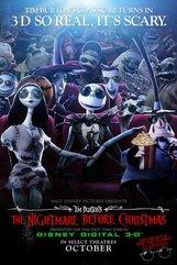 Постер к фильму «Кошмар перед Рождеством 3D»