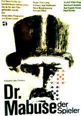 Постер к фильму «Доктор Мабузе-игрок»