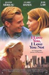 Постер к фильму «Я люблю тебя, я тебя не люблю»