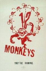 Постер к фильму «Двенадцать обезьян»