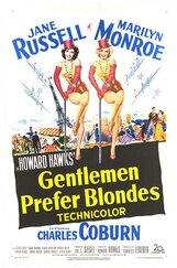 Постер к фильму «Джентльмены предпочитают блондинок»