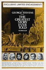 Постер к фильму «Величайшая из когда-либо рассказанных историй»