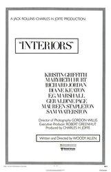 Постер к фильму «Интерьеры»