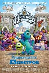 Постер к фильму «Университет монстров»