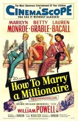 Постер к фильму «Как выйти замуж за миллионера»