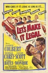 Постер к фильму «Давай сделаем это легально»