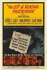 Постер к фильму «Список Эдриана Мессенджера»