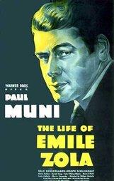 Постер к фильму «Жизнь Эмиля Золя»