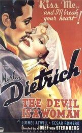 Постер к фильму «Дьявол - это женщина»