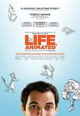 Постер к фильму «Анимированная жизнь»