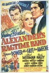 Постер к фильму «Рэгтайм Бэнд Александра»