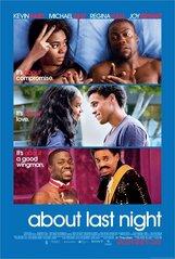 Постер к фильму «Что случилось прошлой ночью»