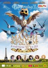 Постер к фильму «Махни крылом! 3D»