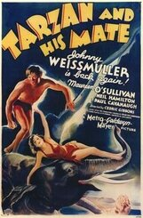 Постер к фильму «Тарзан и его подруга»