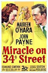 Постер к фильму «Чудо на 34-й улице»