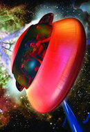 Постер к фильму «Космический аттракцион 3D в SimEx 4D »