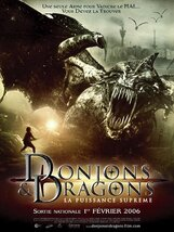 Постер к фильму «Подземелье драконов: источник могущества»