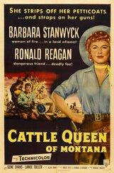 Постер к фильму «Королева скота из Монтаны»
