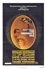 Постер к фильму «Змеиное яйцо»