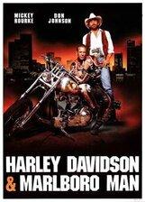Постер к фильму «Харлей Дэвидсон и ковбой Мальборо»