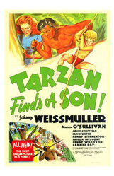 Постер к фильму «Тарзан находит сына»