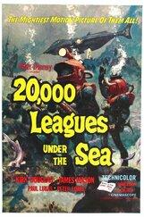 Постер к фильму «20000 лье под водой»