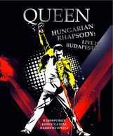 "Постер к фильму «Волшебство ""Queen"" в Будапеште»"