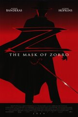 Постер к фильму «Маска Зорро»