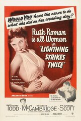 Постер к фильму «Молния бьет дважды»