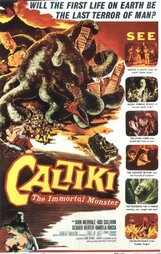 Постер к фильму «Калтики, бессмертный монстр»