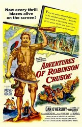 Постер к фильму «Приключения Робинзона Крузо»