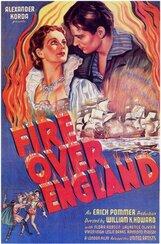 Постер к фильму «Пламя над Англией»