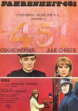 Постер к фильму «451гр. по Фаренгейту»