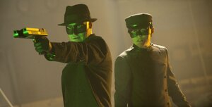 кадры и фото из фильма Зеленый Шершень 3D