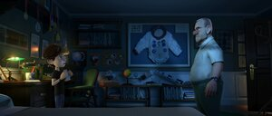 кадры и фото из фильма Лунный флаг 3D