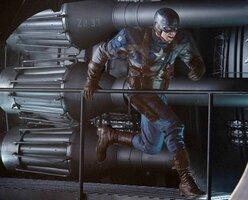 кадры и фото из фильма Первый мститель 3D