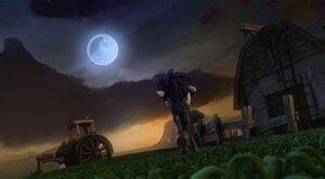 кадры и фото из фильма Блэки летит на Луну 3D