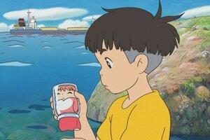 кадры и фото из фильма Рыбка Поньо на утесе