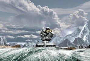 кадры и фото из фильма Бешеное бревно 3D в SimEx 4D